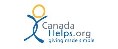 Canada Helps Donation Page